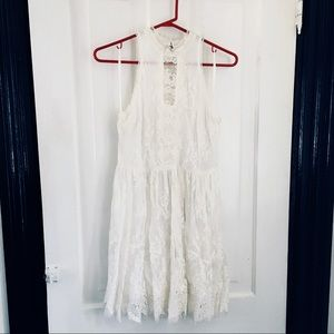 FREE PEOPLE • Angel Lace Dress